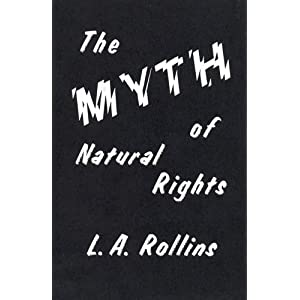 Image for Myth of Natural Rights