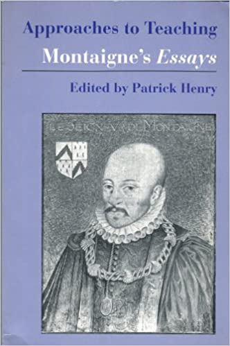 Image for Montaigne's Essays (Approaches to Teaching World Literature)