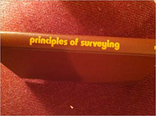 Image for Principles of Surveying