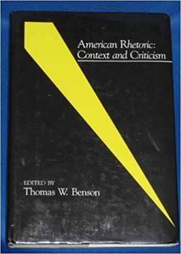 Image for American Rhetoric: Context and Criticism