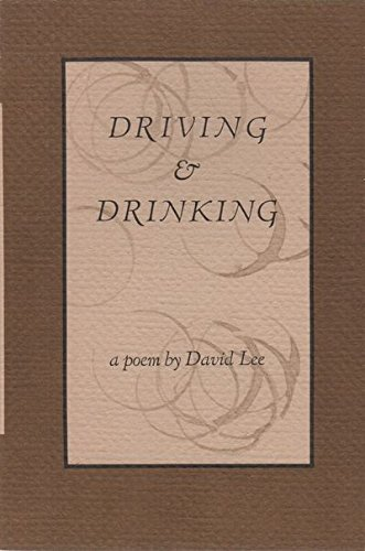 Image for Driving And Drinking