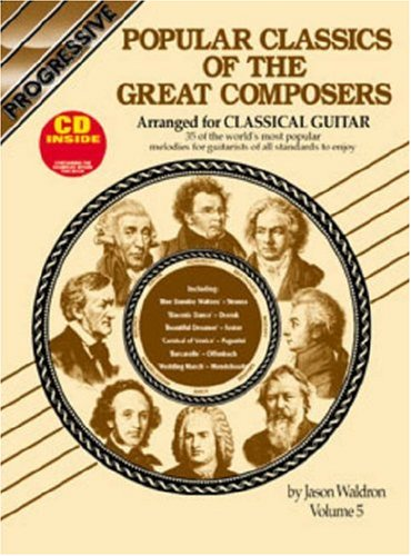 Image for Popular Classics of the Great Composers Arranged for Classical Guitar, Vol. 5