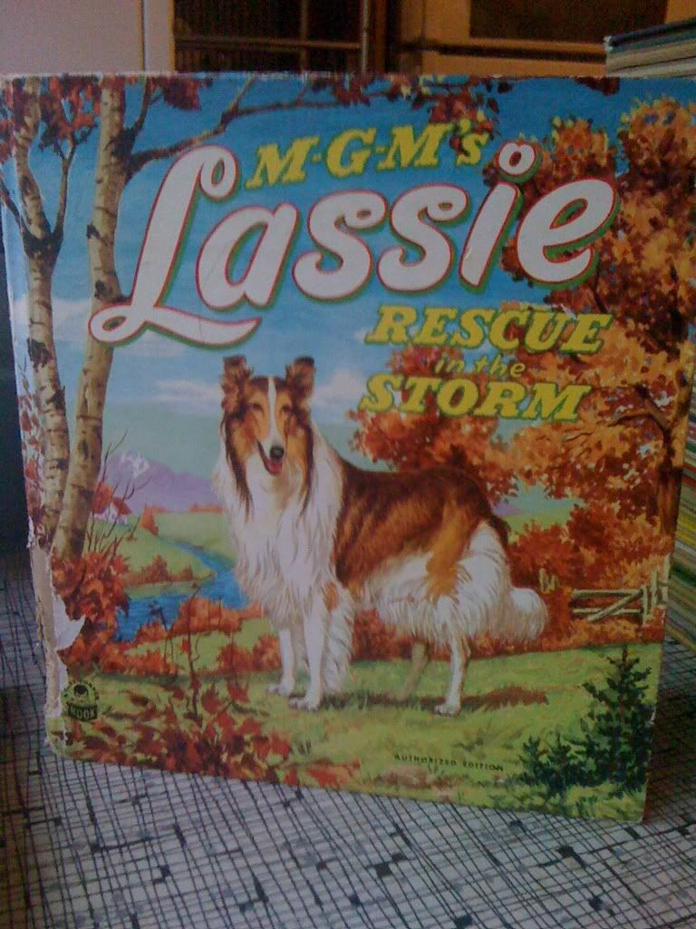 Image for M-G-M's Lassie Rescue In The Storm