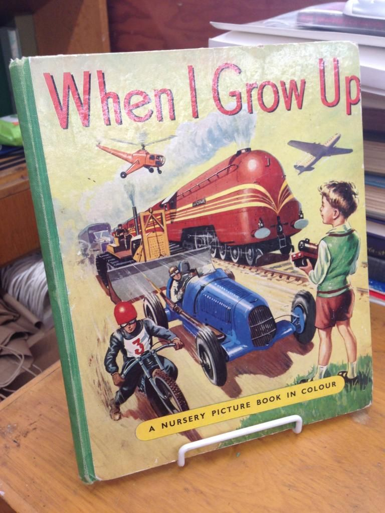 Image for When I Grow Up: A Picture Book of Railways, Aeroplanes, Ships and Motors