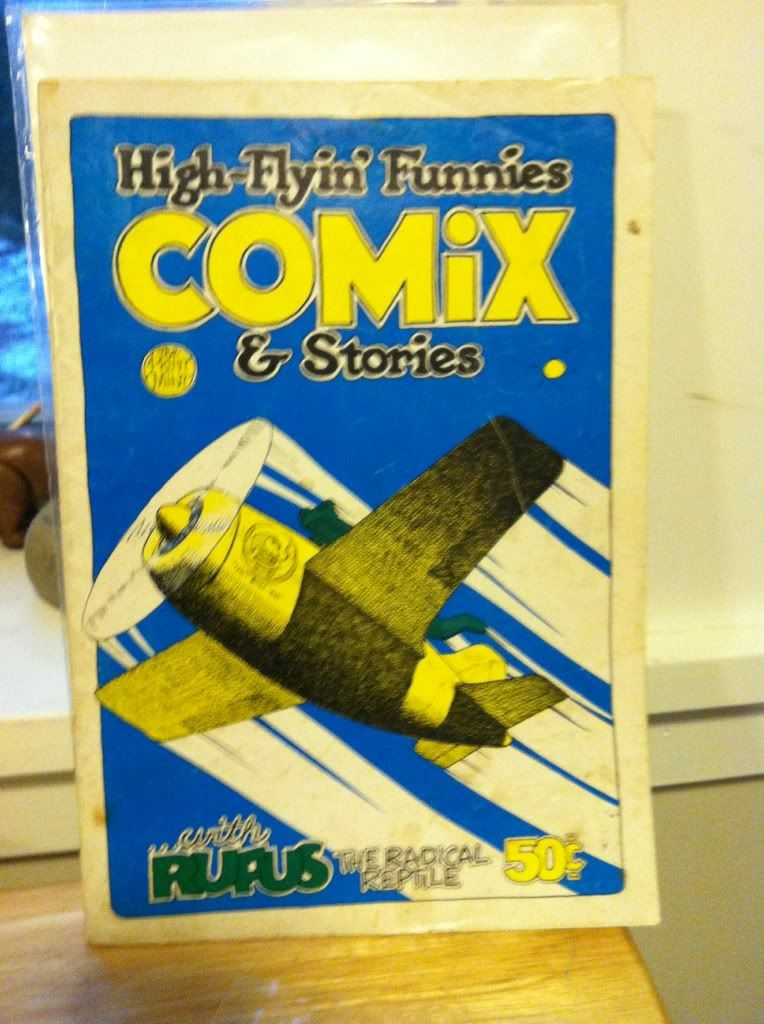 Image for High-Flyin' Funnies Comix and Stories