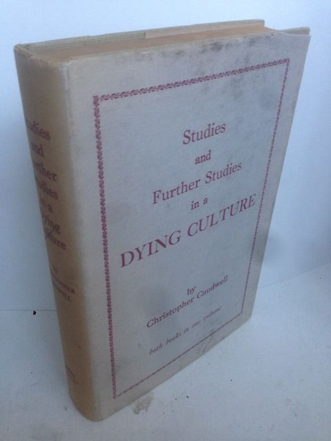 Image for STUDIES IN A DYING CULTURE And Further studies in a dying culture