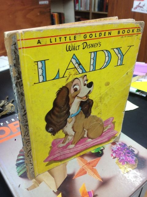 Image for WALT DISNEY'S LADY - A Little Golden Book
