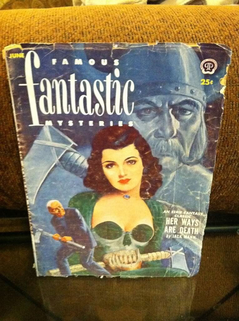 Image for FAMOUS FANTASTIC MYSTERIES JUNE 1952