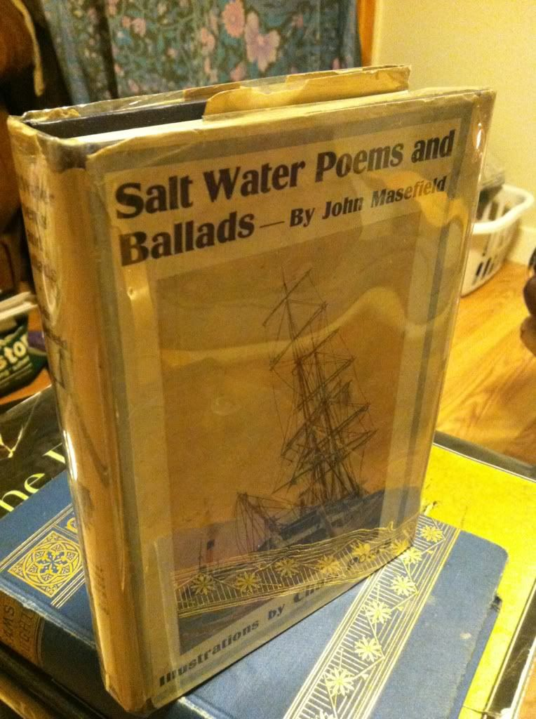 Image for SALT-WATER POEMS AND BALLADS by Masefield, John.