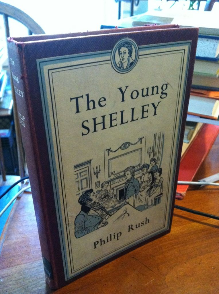 Image for The Young Shelley by Rush, Philip