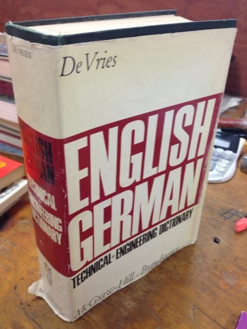 Image for English-German Technical And Engineering Dictionary