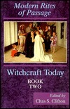 Image for Witchcraft Today, Book Two: Rites of Passage (Bk.2)