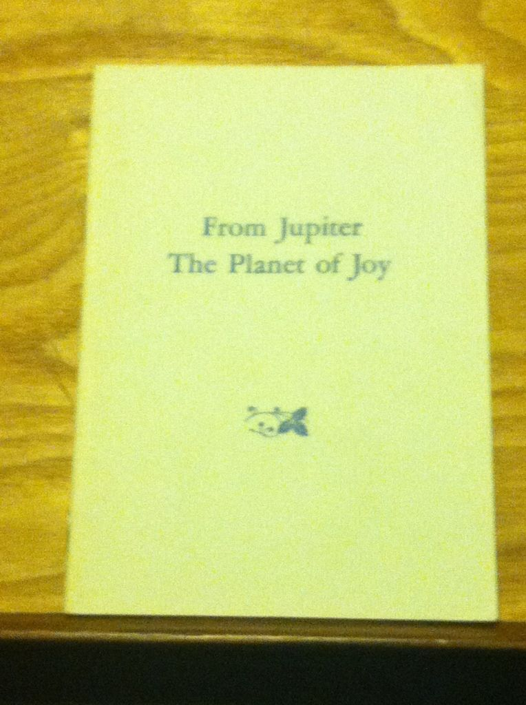 Image for From Jupiter, The Planet Of Joy
