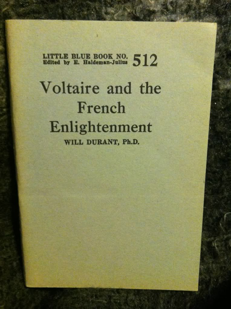 Image for Voltaire and the French enlightenment (Little blue book)
