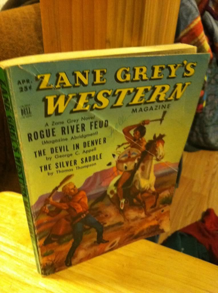 Image for Zane Grey's Western Magazine; April 1952 Volume 6, Number 2