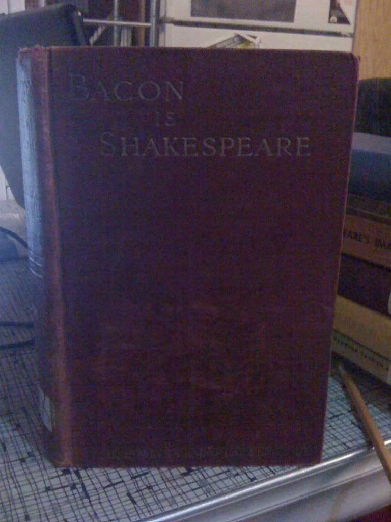 Image for Bacon Is Shake-Speare by Lawrence, Edwin Durning