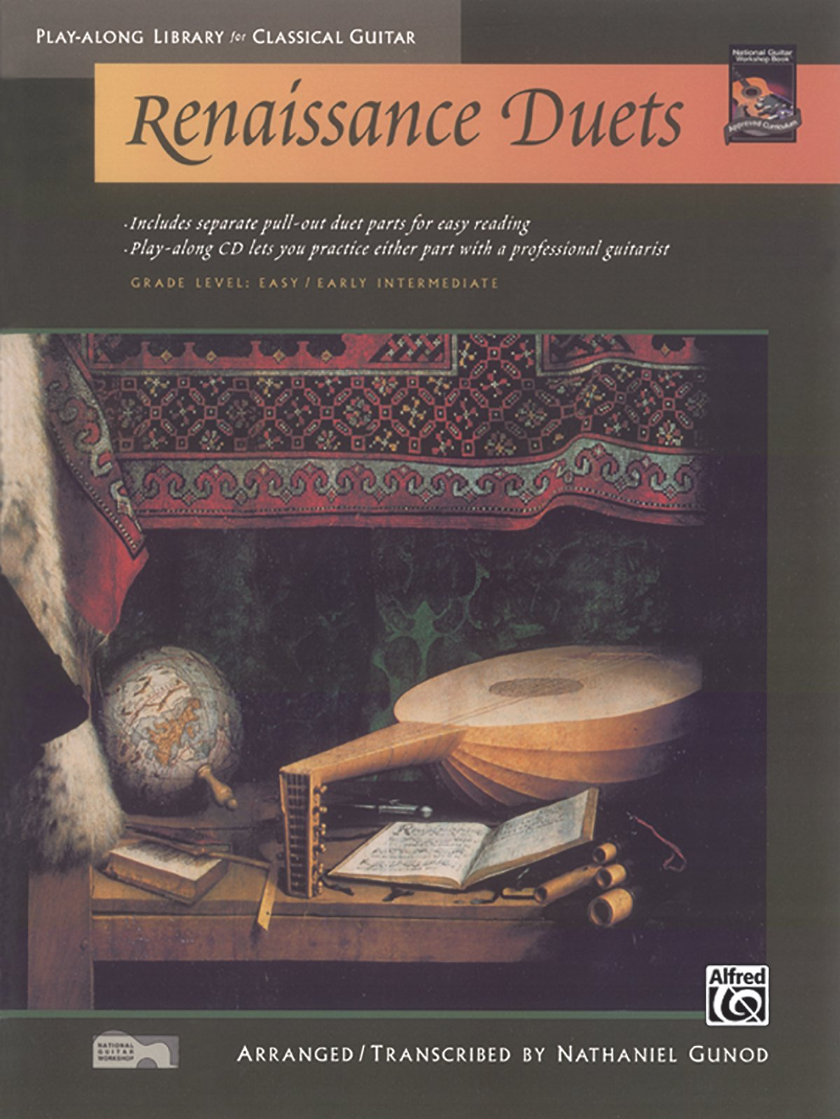 Image for Renaissance Duets (Play-Along Library for Classical Guitar)