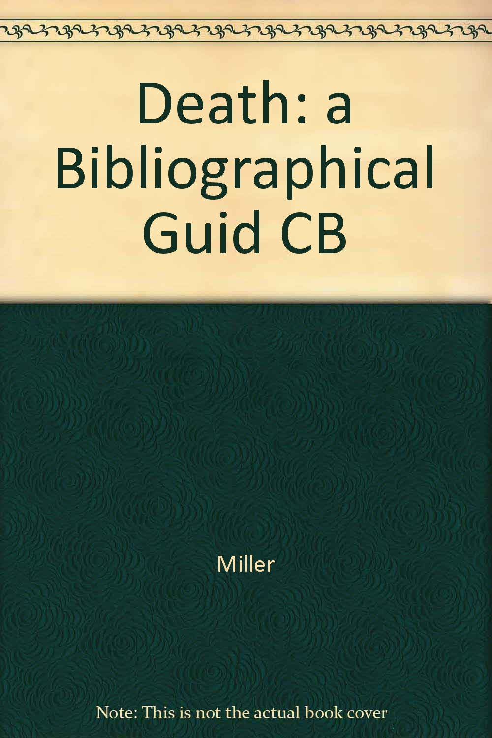 Image for Death: A bibliographical guide