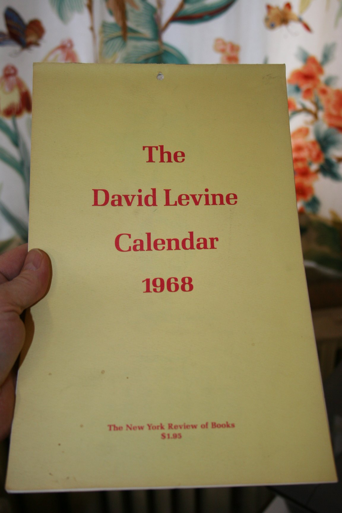 Image for David Levine Calendars From the New York Review of Books