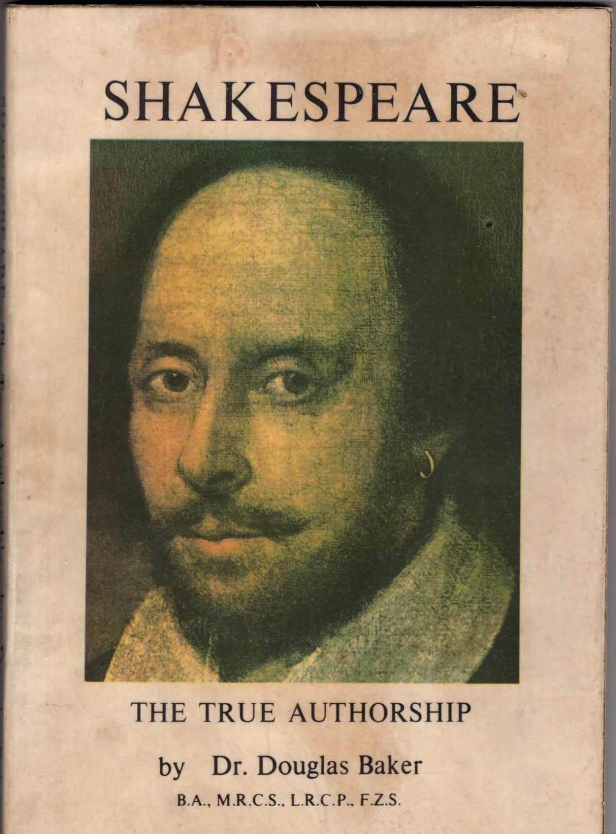 Image for Shakespeare: The True Authorship
