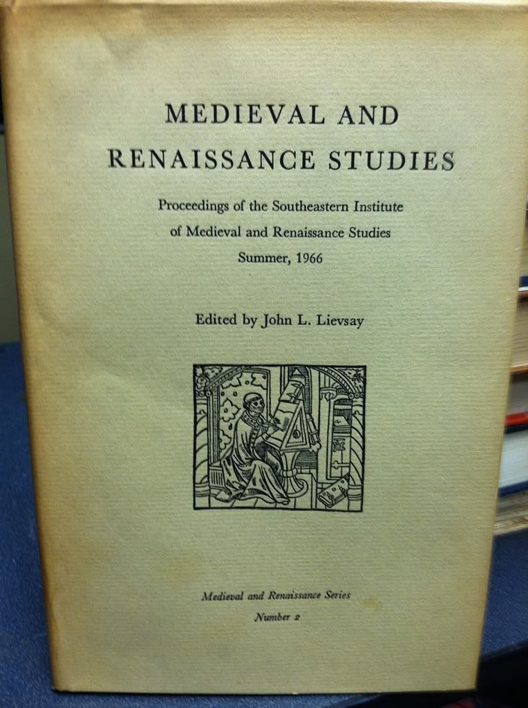 Image for Medieval and Renaissance Studies Number 2