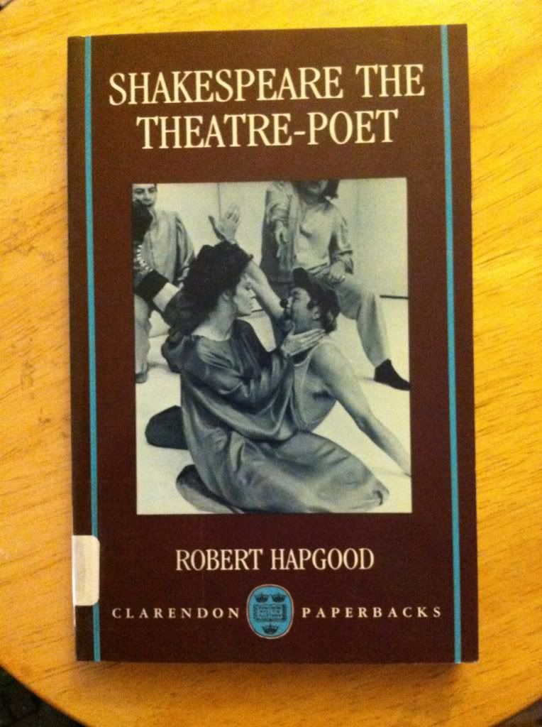 Image for Shakespeare the Theatre-Poet (Clarendon Paperbacks)