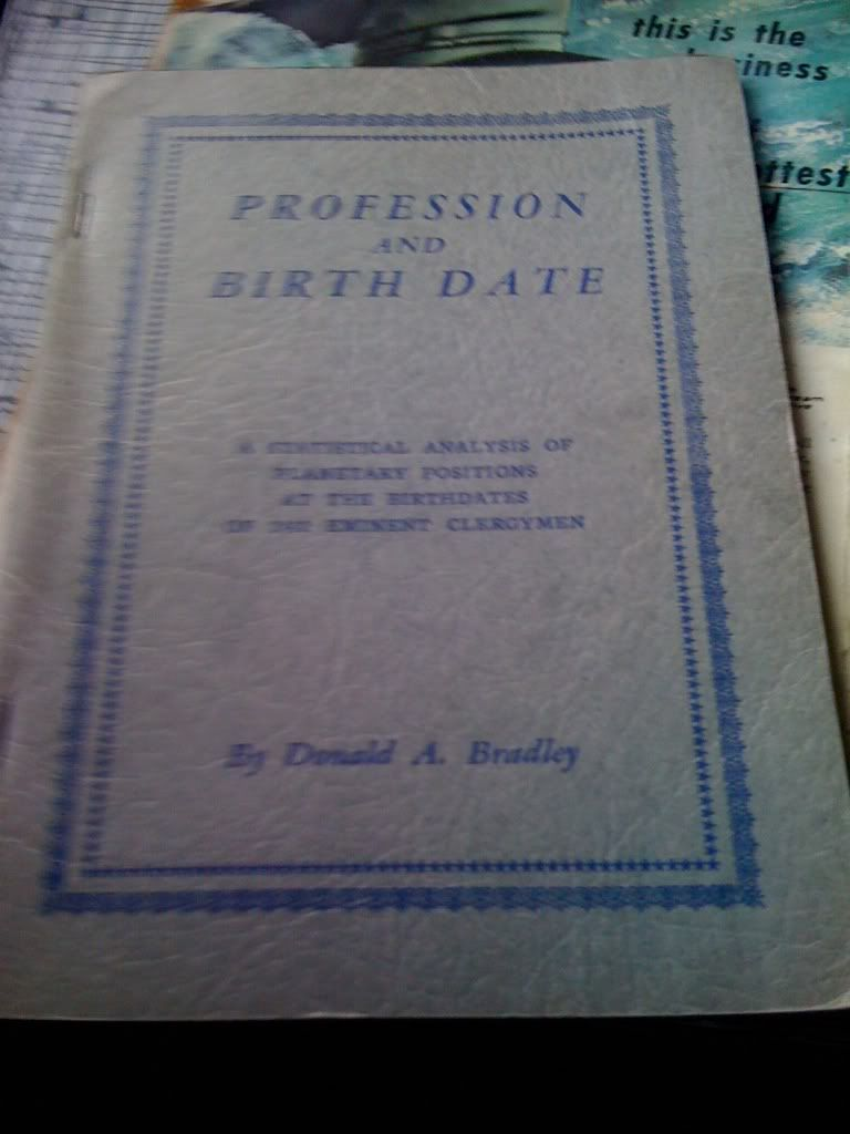 Image for Profession and Birth Date