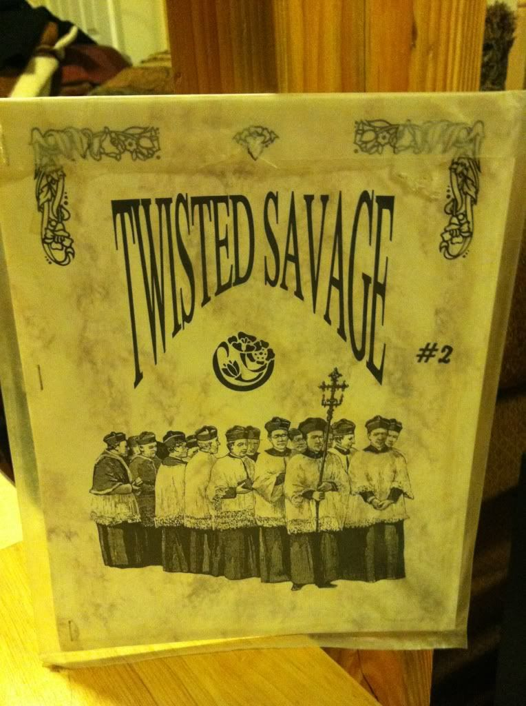 Image for Twisted Savage #2: The Divine Fertility Issue by Courson, Gregory N.; Bukowski, Charles & Others