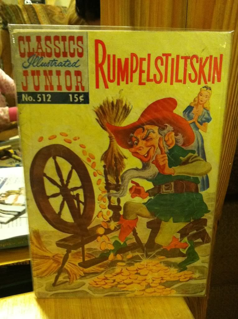 Image for Rumpelstiltskin, Classics Illustrated Junior #512