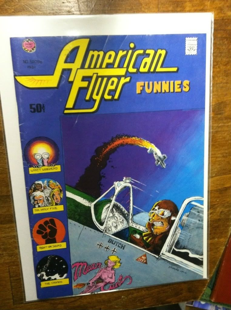 Image for American Flyer Funnies, #51109e