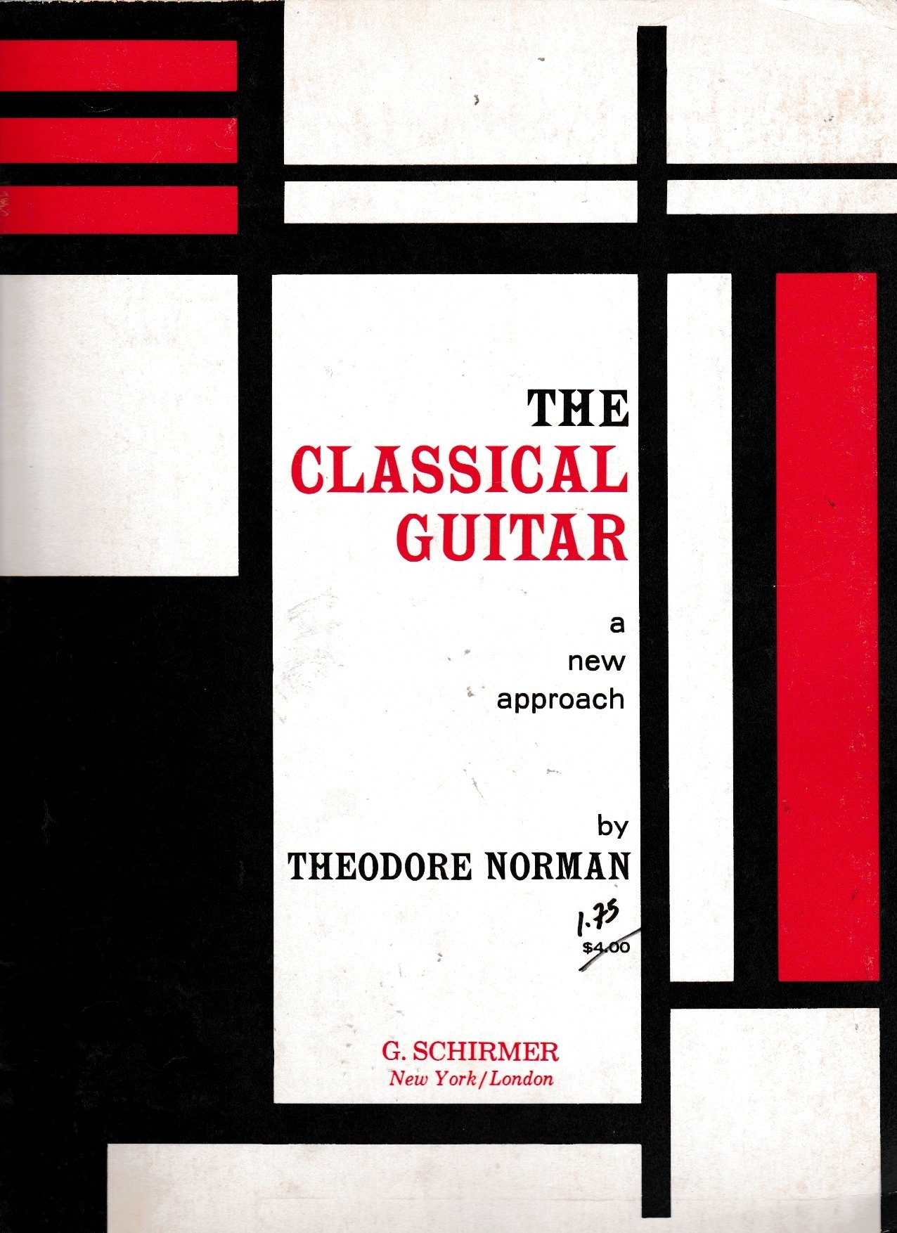 Image for The Classical Guitar. A new approach