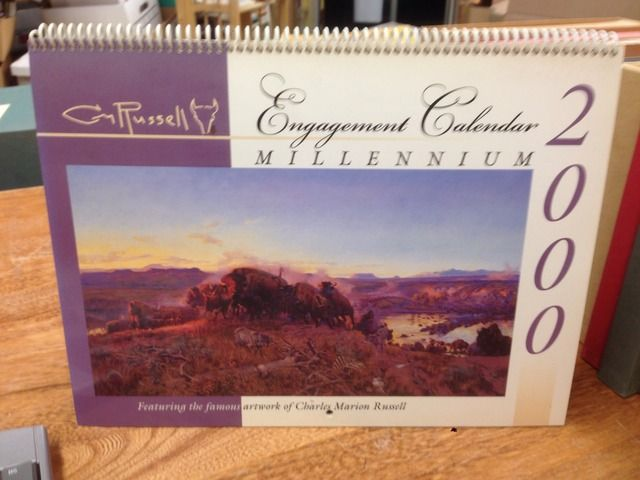 Image for C. M. Russell 2000 Engagement Calendar (Featuring the famous artwork of Charles Marion Russell)
