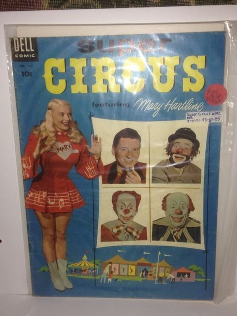 Image for SUPER CIRCUS NUMBER 592, 1954 Four-Color Comic Book