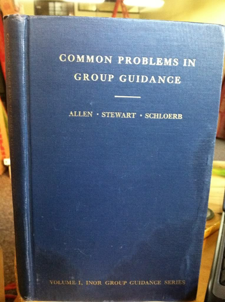 Image for Common Problems In Group Guidance: A Manual For Counselors In Secondary School