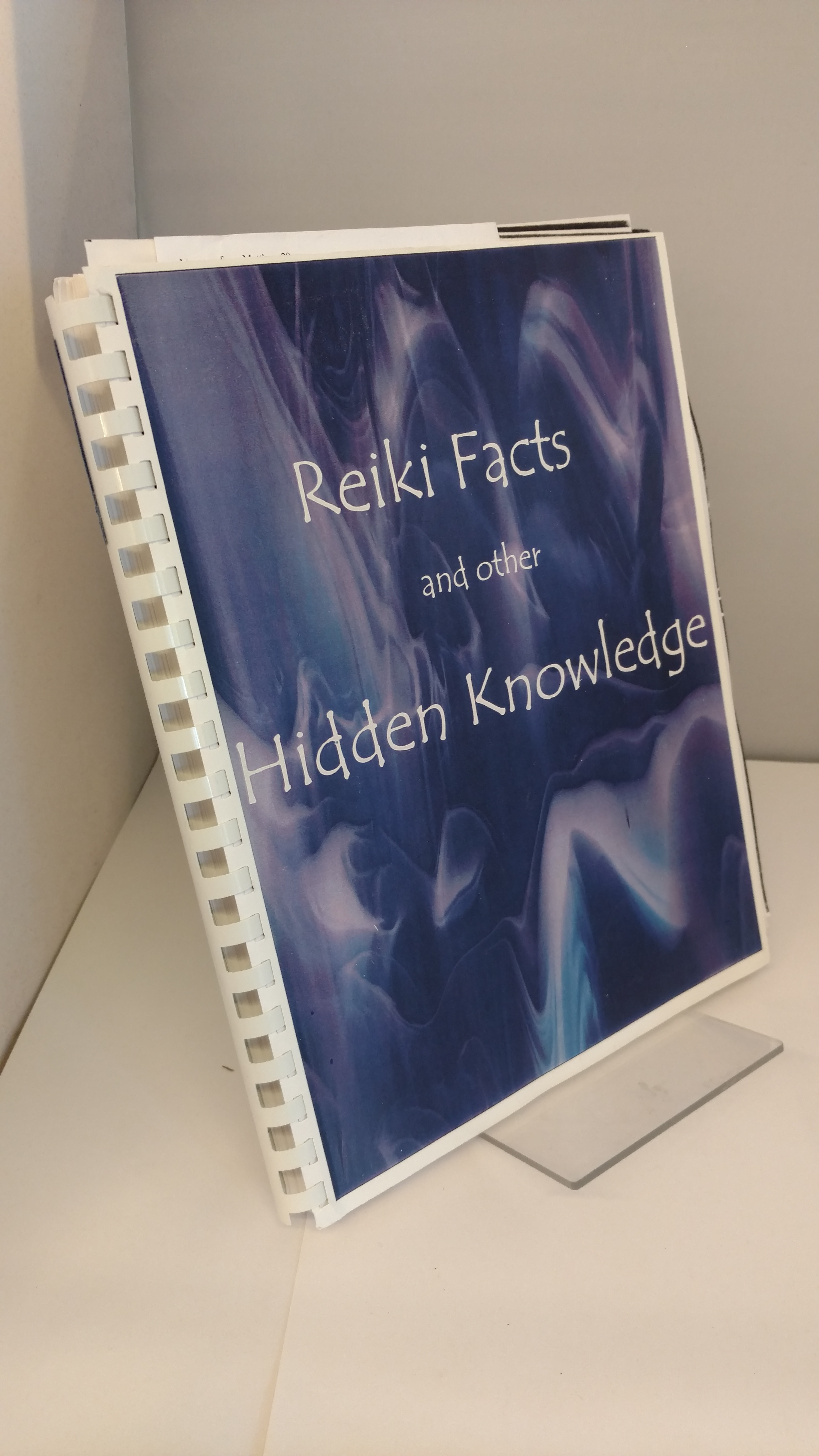 Image for Reiki Facts and Other Hidden Knowledge by Lau, Robert