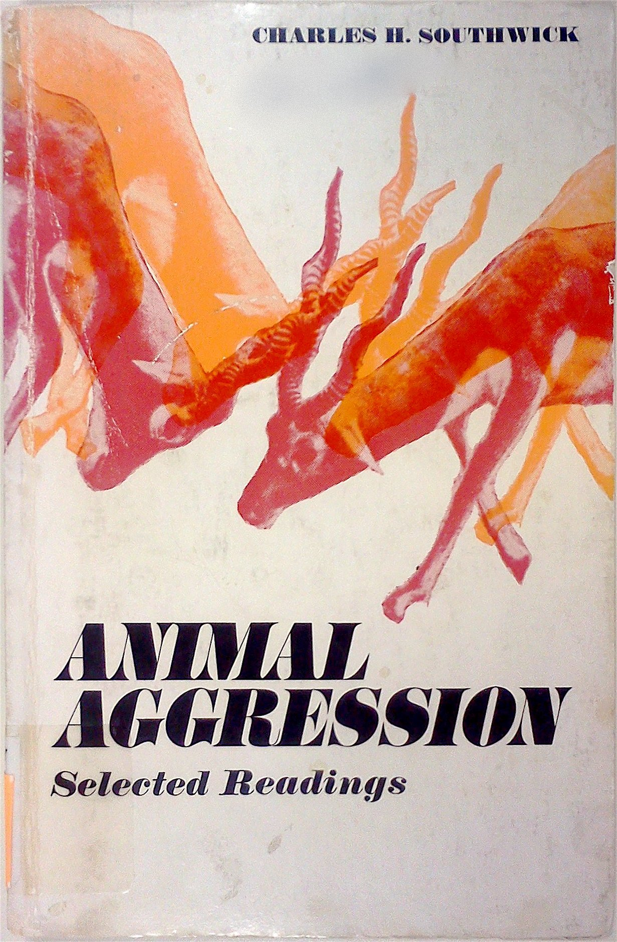 Image for Animal Aggression: Selected Readings