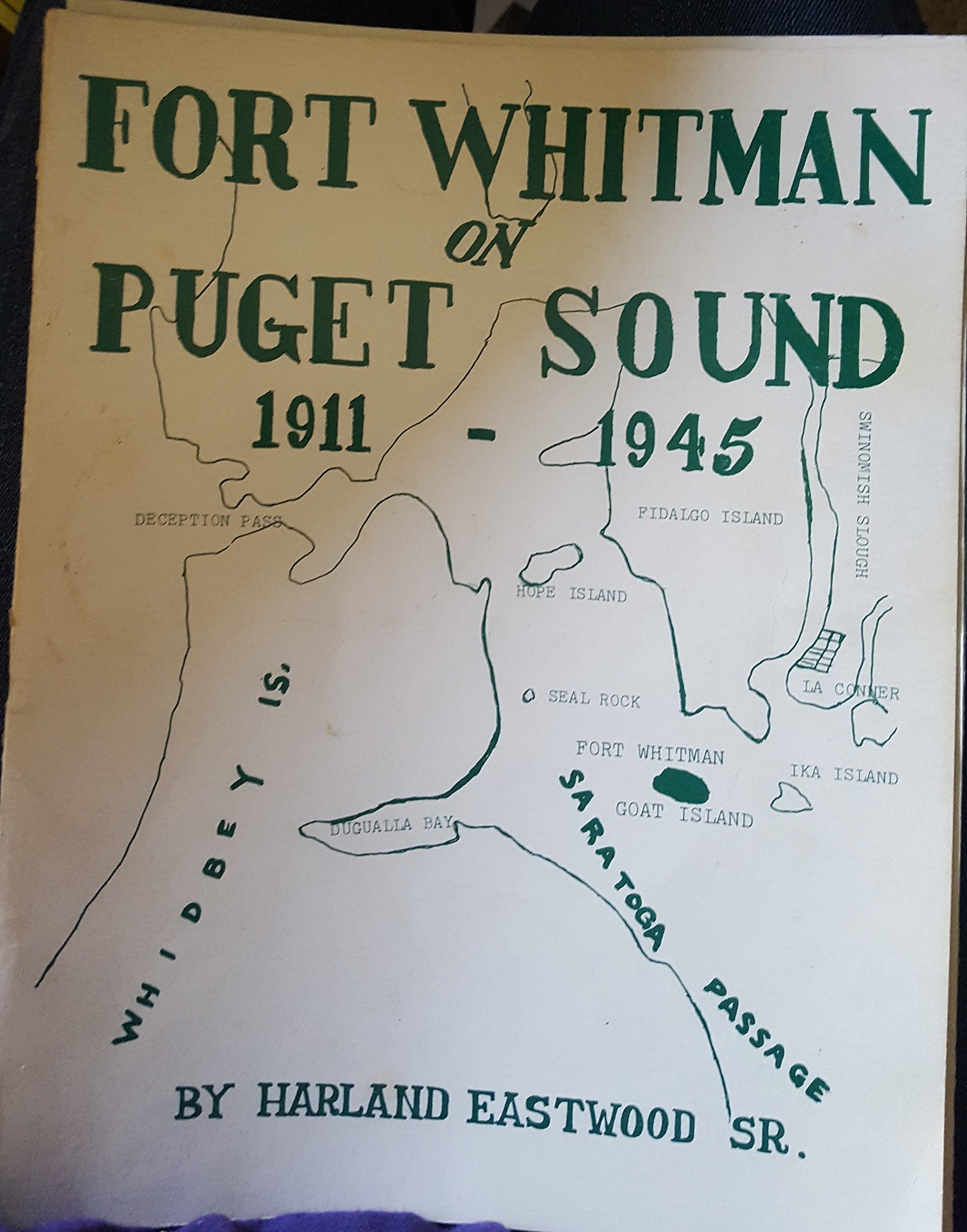 Image for Fort Whitman on Puget Sound, 1911-1945