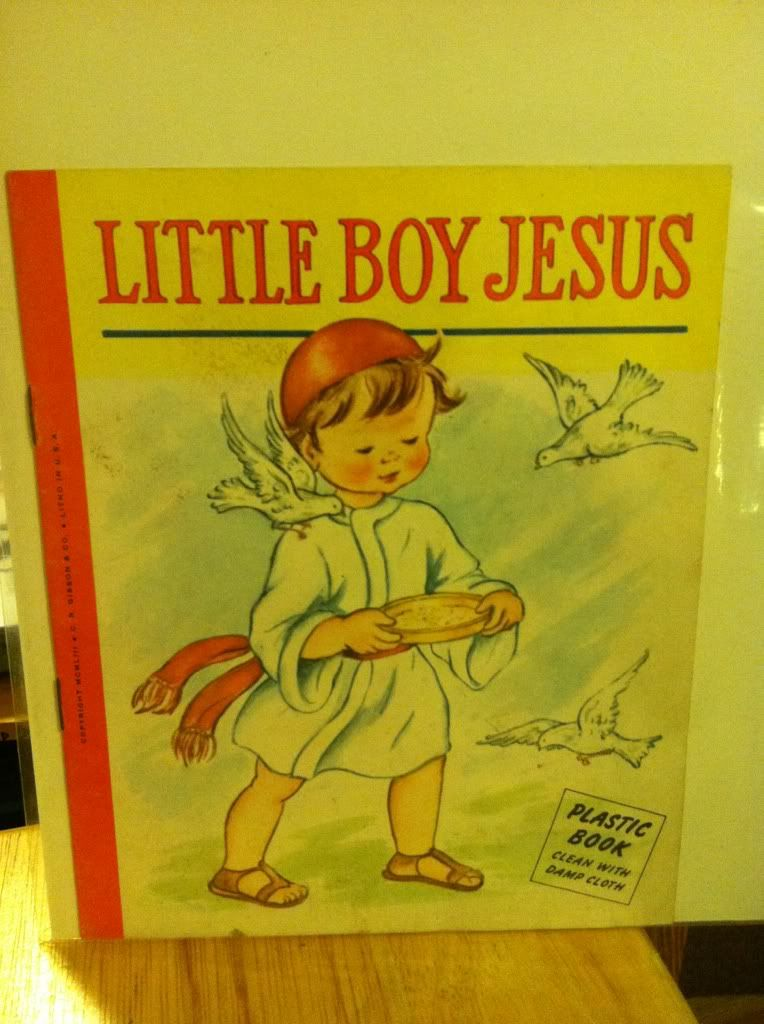 Image for Little Boy Jesus: Plastic Book by n/a
