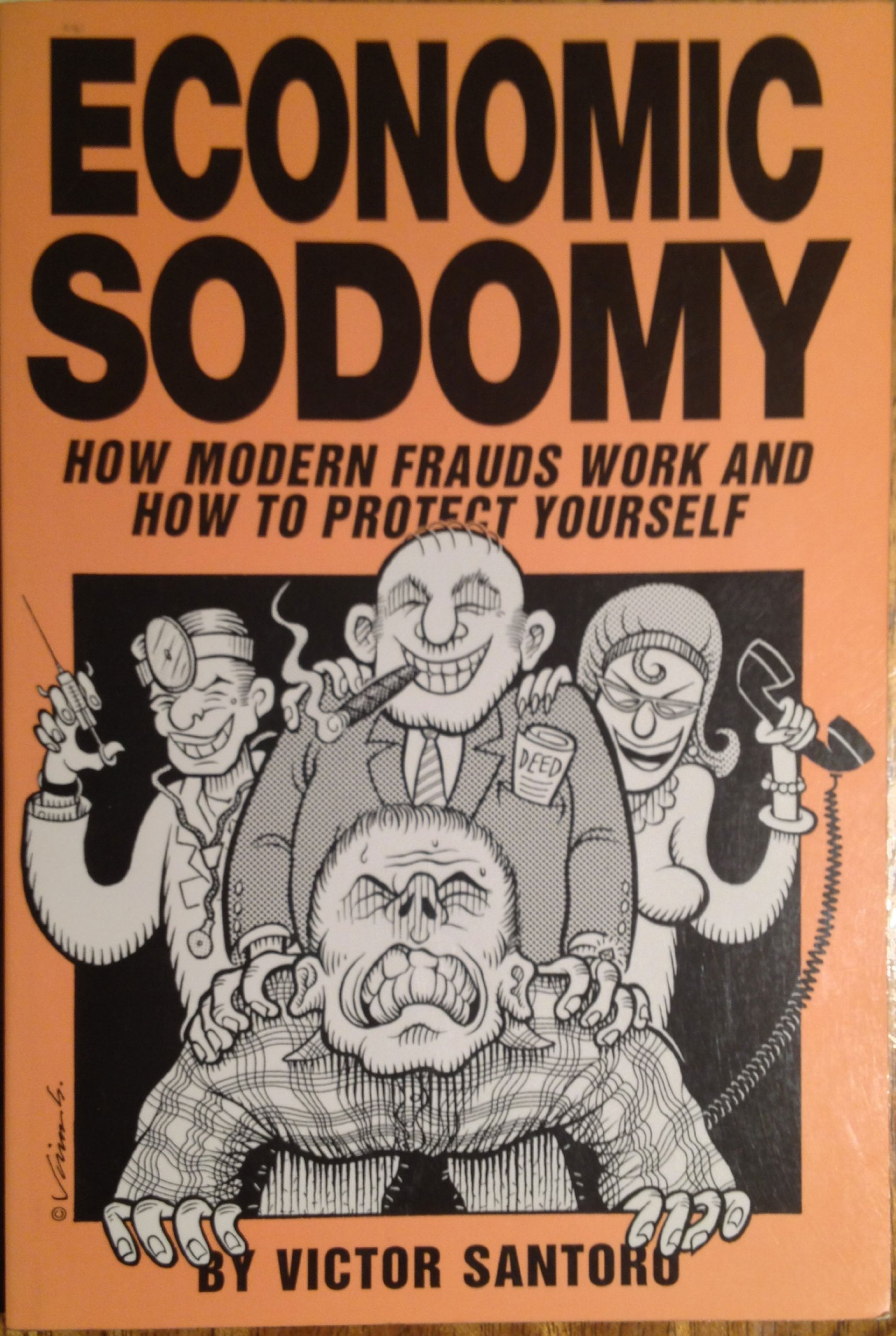Image for Economic Sodomy: How Modern Frauds Work and How to Protect Yourself