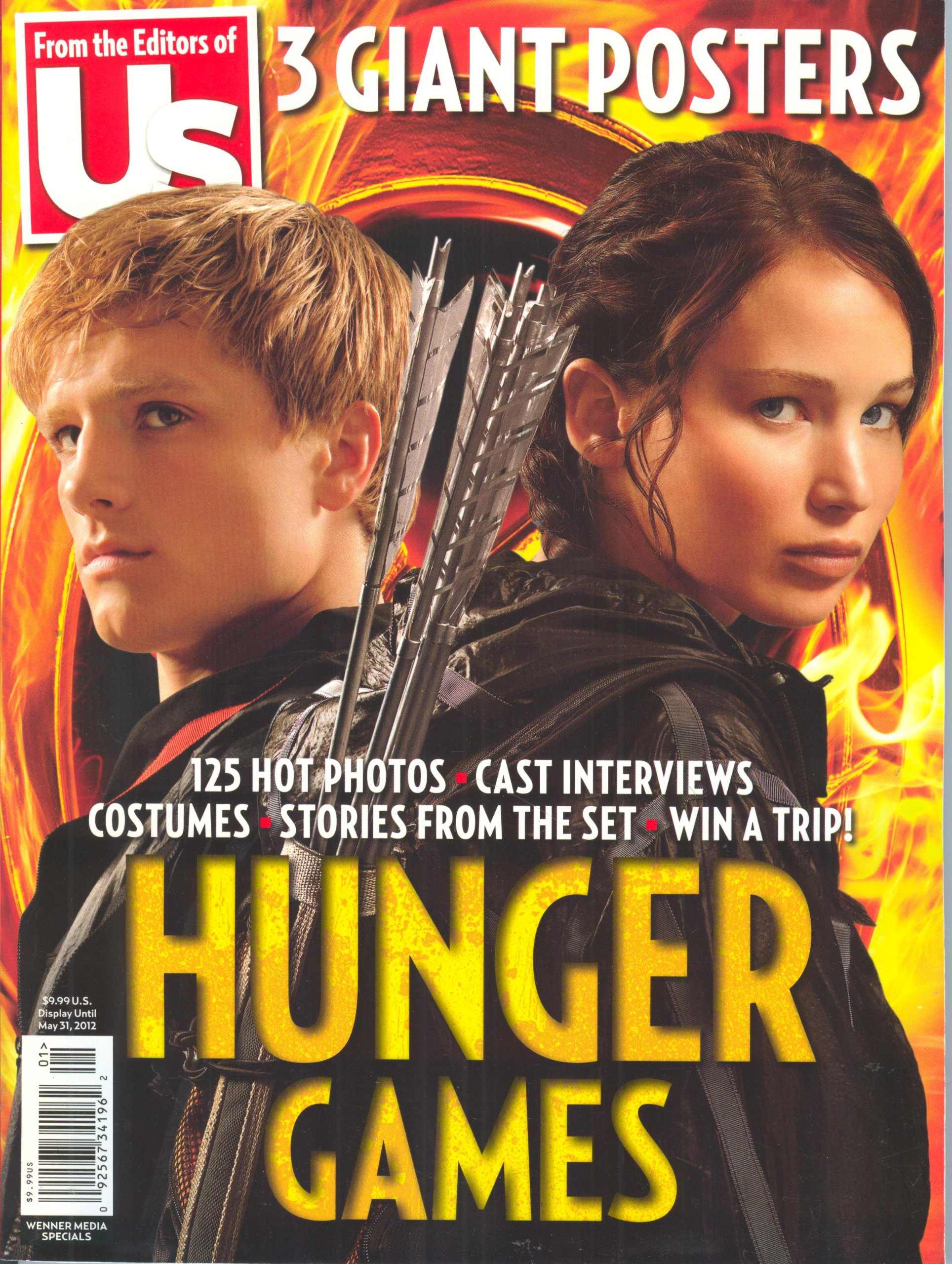 Image for Us Magazine, Special The Hunger Games 2012 Collector's Edition. 125 Hot Photos, 3 Giant Posters