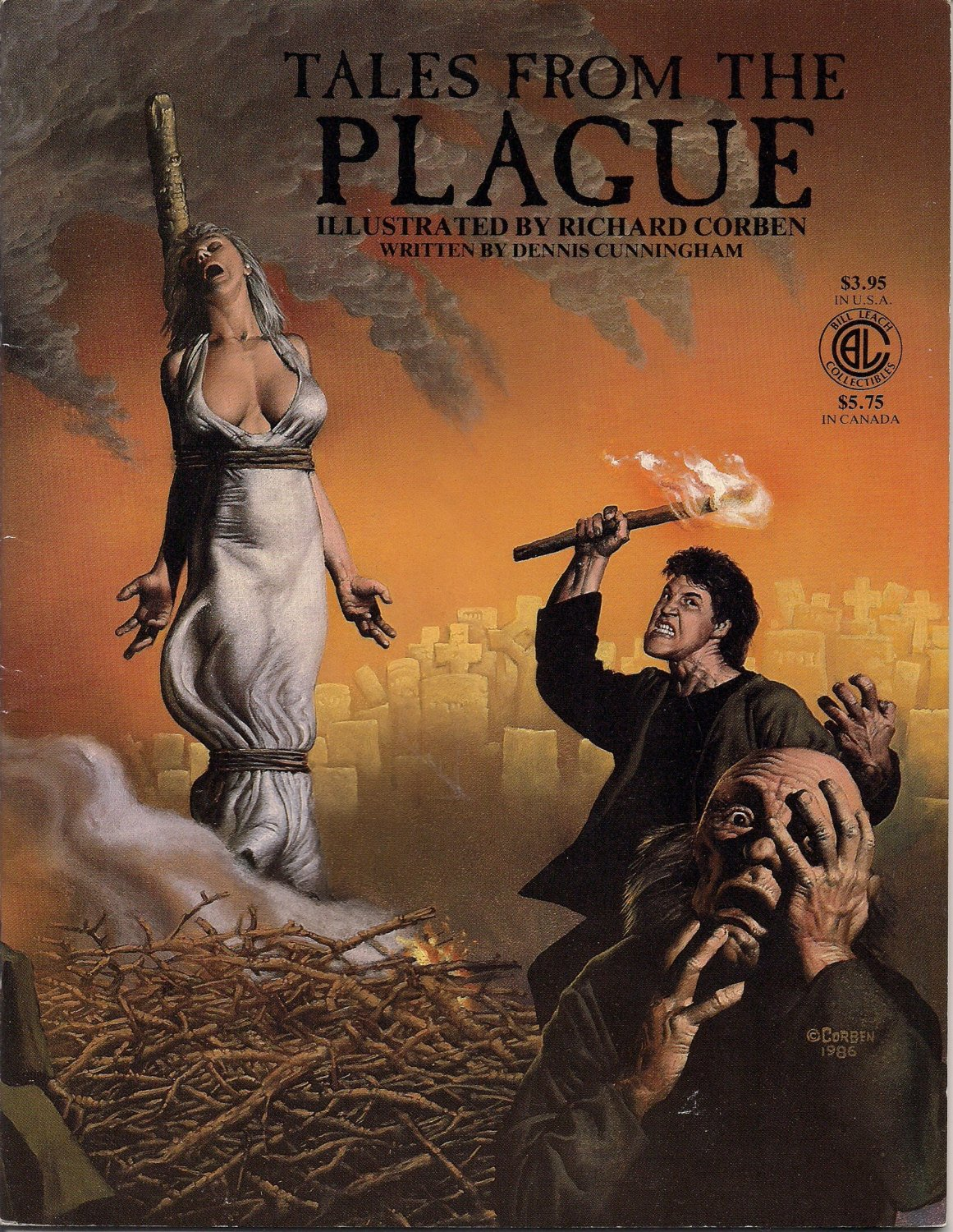 Image for TALES FROM THE PLAGUE  (COMICS)