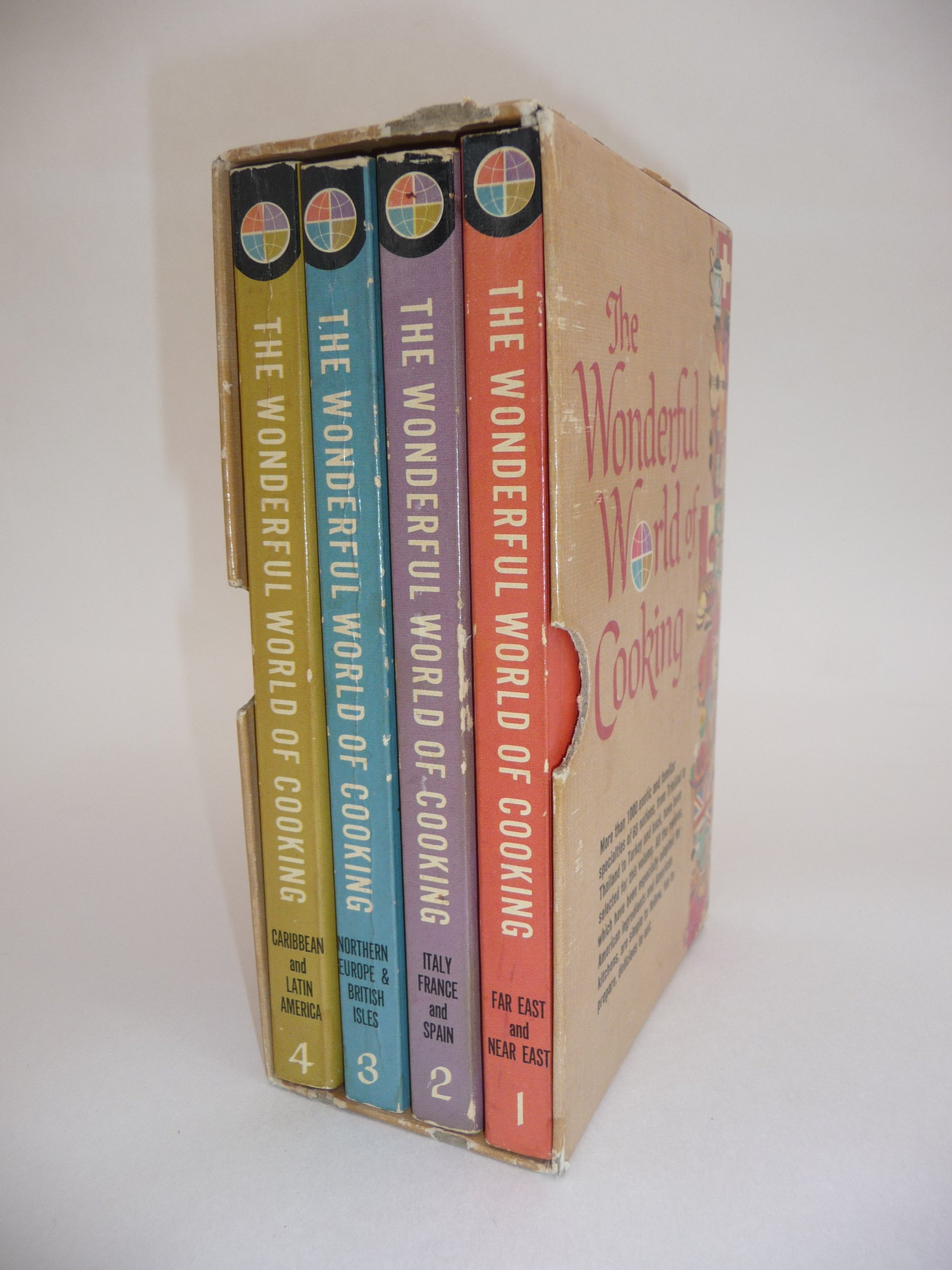 Image for The Wonderful World of Cooking Volumes 1-4 Boxed Set