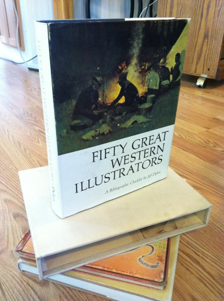 Image for Fifty Great Western Illustrators by Dykes, Jeff by Dykes, Jeff