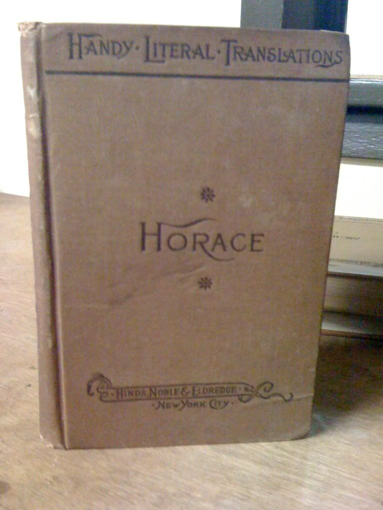 Image for The Works Of Horace by Smart, C.