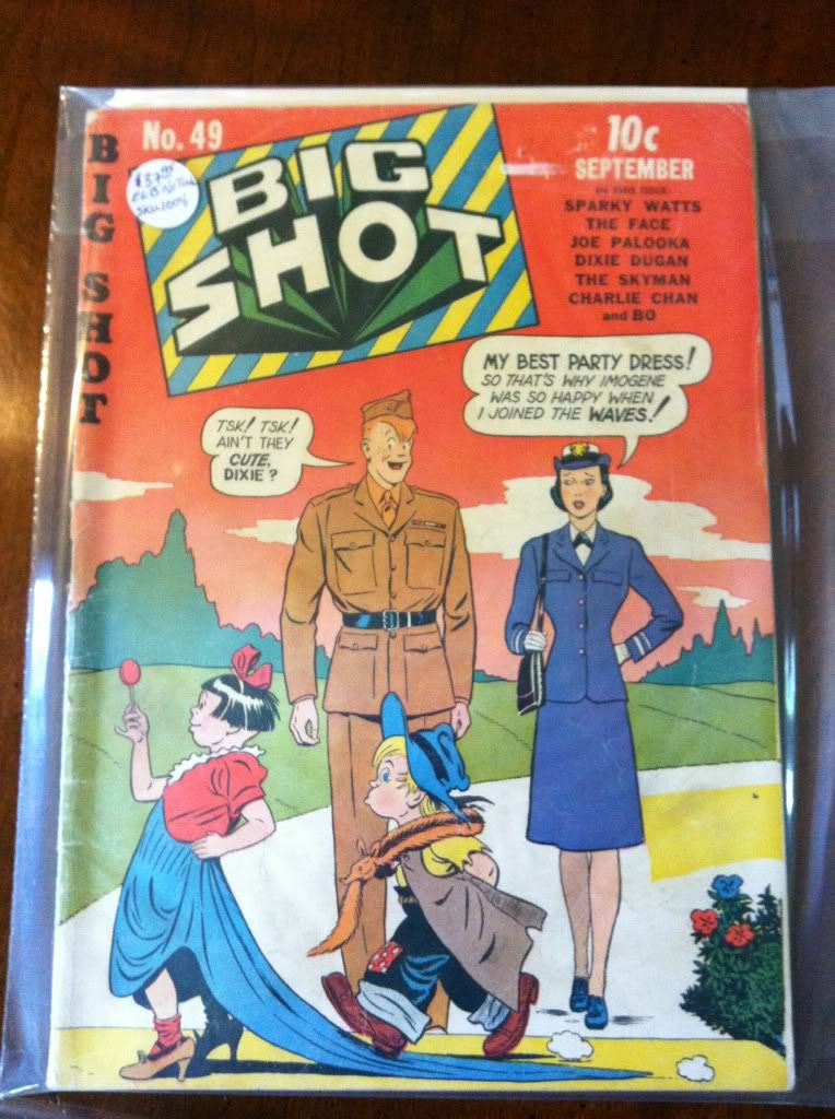 Image for Comics - Big Shot Comics Comic Book #49 (Sep 1944) Very Good