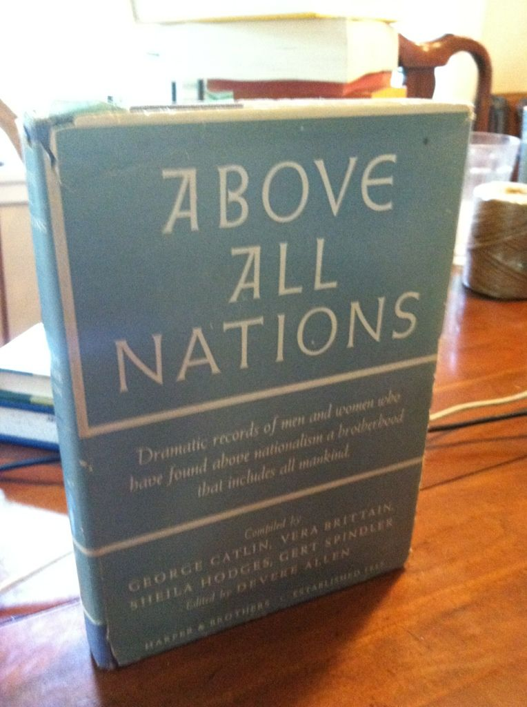 Image for Above All Nations