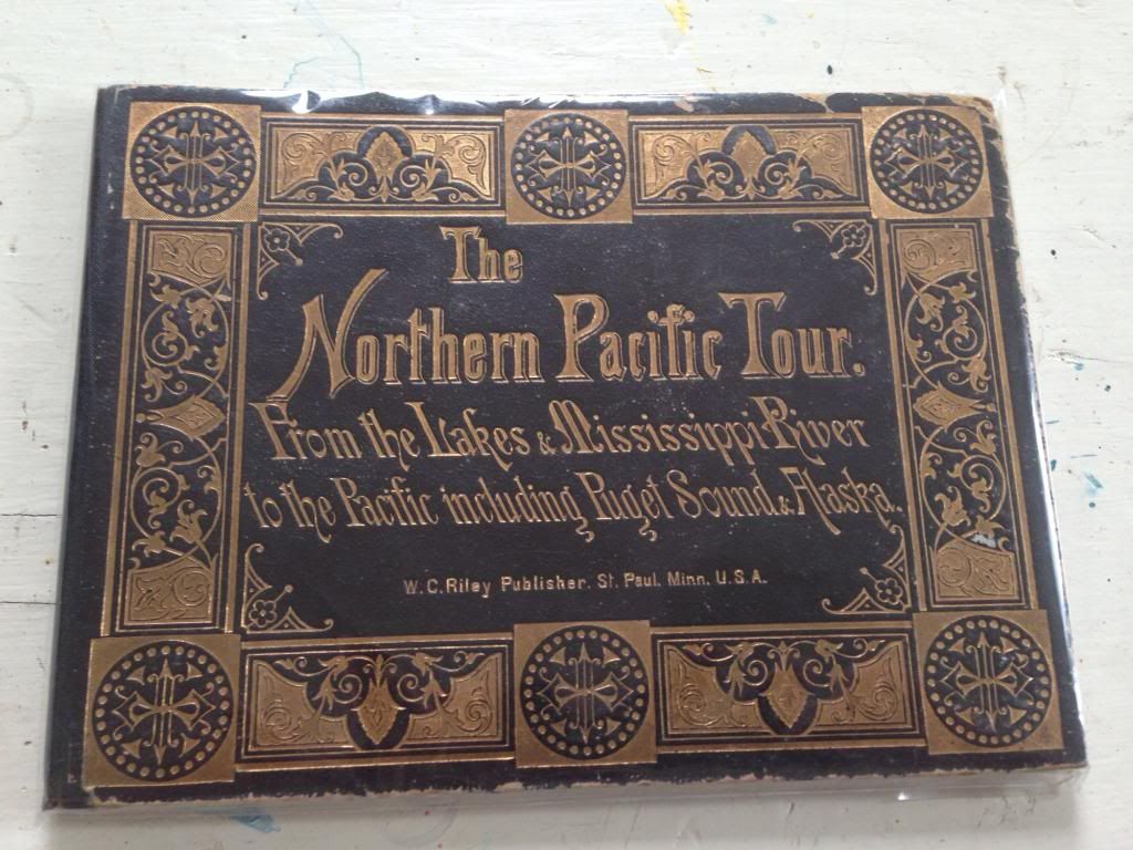 Image for The Northern Pacific tour: From the lakes & Mississippi River to the Pacific