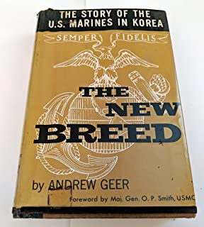 Image for The New Breed: The Story of the US Marines in Korea by Geer, Andrew