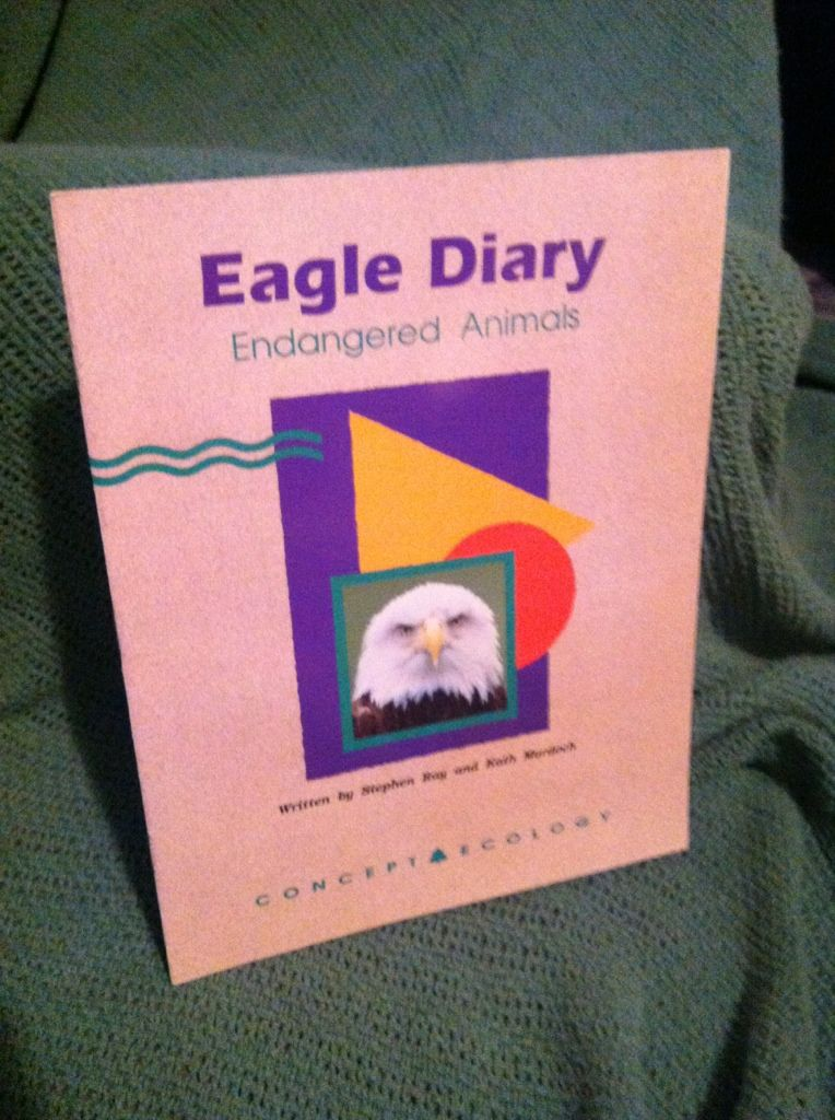 Image for Eagle diary: Endangered animals (Concept ecology)