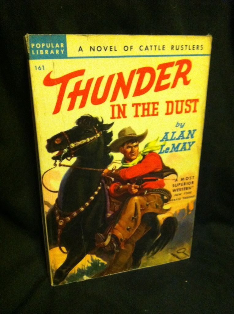 Image for Thunder in the Dust (Pop Library Western, 161)